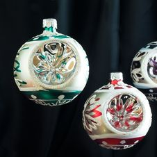 Free Christmas Baubles Stock Photography - 3546332