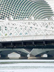 Free Three Bridges Royalty Free Stock Image - 3546476