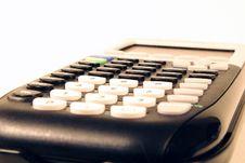 Free Calculator Close Up Royalty Free Stock Photos - 3546518