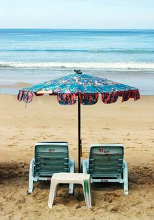 Free Deck Chairs Stock Image - 3546871