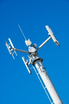 Free Telecom Tower & Sky Royalty Free Stock Photos - 3547038