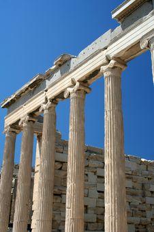 Free Acropolis, Parthenon Temple Stock Photography - 3547702