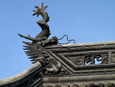Free Chinese Roof Royalty Free Stock Photography - 3547717