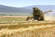 Free Harvester Working Stock Photos - 3548163