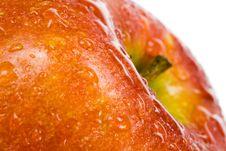 Delicious Fresh Apple Stock Photography