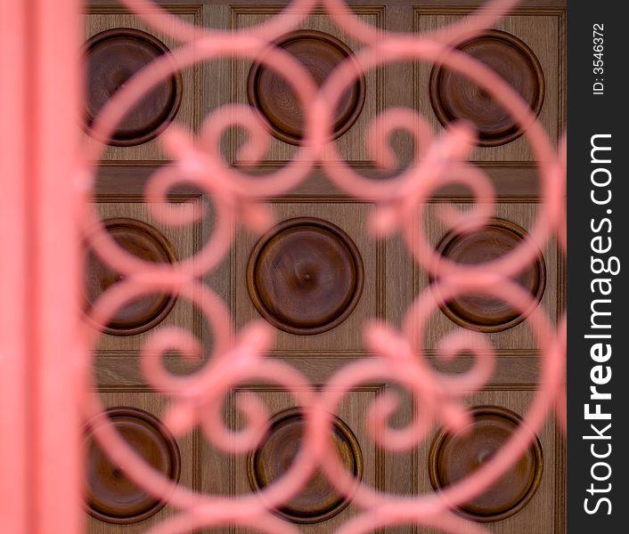 Door Beyond Gate