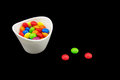 Free Multicolored Candies In A Bowl Royalty Free Stock Images - 35401129