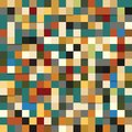Free Seamless Pattern Of Colored Squares Stock Photos - 35405163