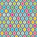 Free Abstract Seamless Background. Fabric Pattern. Royalty Free Stock Images - 35406469