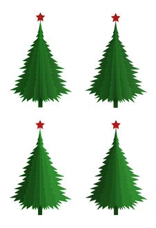 Free Christmas Tree Stock Photo - 35402850