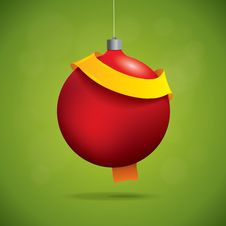 Free Christmas Ball Royalty Free Stock Photography - 35403117