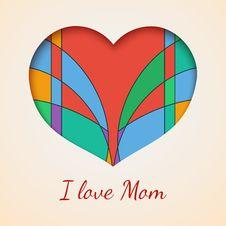 Free I Love You Mom Royalty Free Stock Photos - 35405038