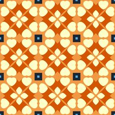Free Vector Seamless Geometric Pattern Royalty Free Stock Images - 35405099