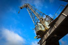Free Harbor Crane Stock Image - 35407551