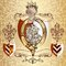 Free Heraldic Design With Lion And Knight Stock Photos - 35403893