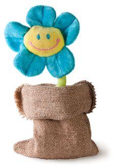 Free Plush Flower In Sack Stock Photos - 35413603