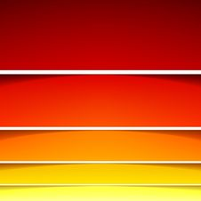 Free Abstract Background With Red And Orange Layers Stock Photography - 35416342