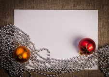 Free Christmas Greeting Card Background Stock Image - 35417321