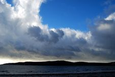 Free Beach, Island And Clouds, Scotland Stock Images - 35417664
