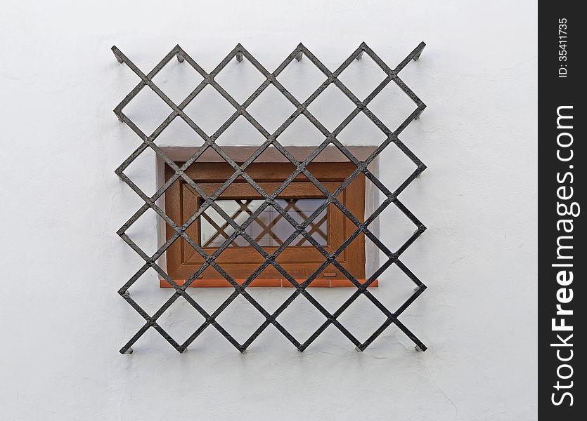 Spanish window in nerja