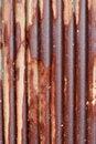 Free Rusty Corrugated Iron Royalty Free Stock Photography - 35425817
