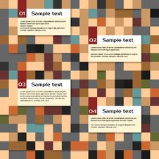 Free Vector Abstract Squares Background, Royalty Free Stock Photography - 35421627