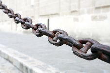 Free Old Chain Royalty Free Stock Image - 35423316