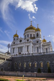 Free Cathedral Of Christ The Saviour, Moscow Stock Images - 35425024