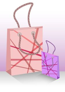 Free Shopping Bags Royalty Free Stock Images - 35425599
