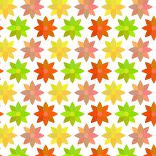 Free Warm Flower Pattern Royalty Free Stock Image - 35425716