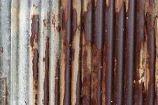 Free Rusty Corrugated Iron Stock Photo - 35425810