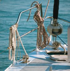 Free Tackles On Yacht Stock Images - 35427764