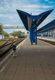 Railway Platform Stock Photos