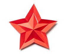 Free Origami Star Royalty Free Stock Photos - 35428608