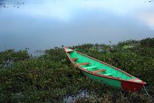 Free Boat In Fewa Lake(Nepal). Royalty Free Stock Photography - 35429987