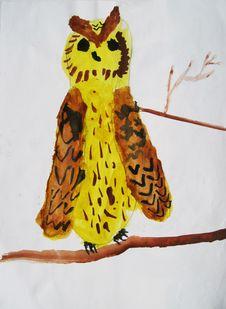 Free Owl Royalty Free Stock Photos - 35431378