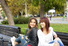 Free Happy Friends Royalty Free Stock Image - 35435936