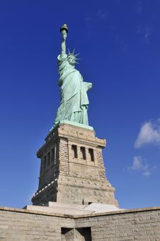 Liberty Statue, N.Y. Royalty Free Stock Image