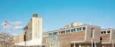 Coney Island Modern Life Guard Stations Stock Photo