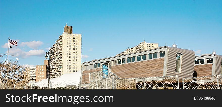Coney Island Modern life guard stations