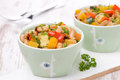 Free Vegetable Stew With White Beans Stock Photography - 35444082