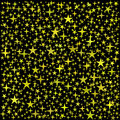 Free Golden Stars Background Stock Image - 35449221