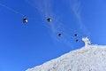 Free Ski Lift Royalty Free Stock Photo - 35449485