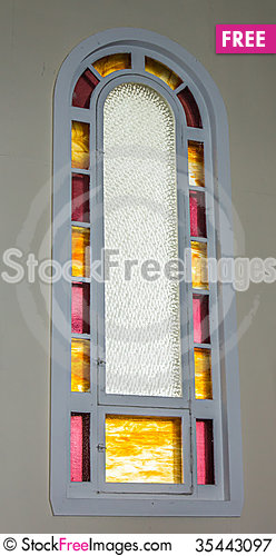 Free Church Window Royalty Free Stock Photography - 35443097