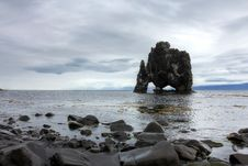 Hvitserkur Rock, Island Stock Images