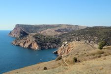 Free Crimean Mountains Near Balaklava, Sevastopol Stock Image - 35447191