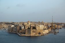 Grand Harbour, Malta Stock Image