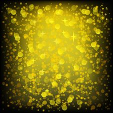 Free Golden Glittering Background Royalty Free Stock Photos - 35449228