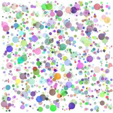 Free Colorful Round Blots Background Royalty Free Stock Photo - 35449255