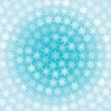 Free Snowflakes Circles Background Stock Photos - 35449433